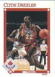 1991-92 Hoops #262 Clyde Drexler AS