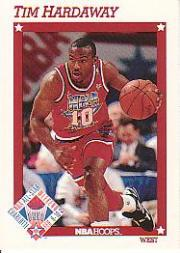 1991-92 Hoops #264 Tim Hardaway AS