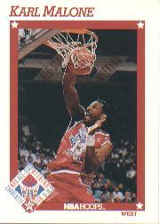 1991-92 Hoops #267 Karl Malone AS