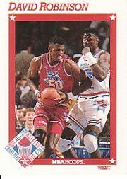 1991-92 Hoops #270 David Robinson AS