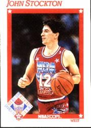 1991-92 Hoops #271 John Stockton AS