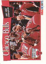1991-92 Hoops #277 Chicago Bulls