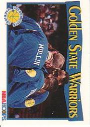 1991-92 Hoops #282 Golden State Warriors