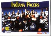 1991-92 Hoops #284 Indiana Pacers