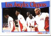 1991-92 Hoops #285 Los Angeles Clippers