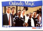 1991-92 Hoops #292 Orlando Magic