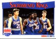 1991-92 Hoops #296 Sacramento Kings