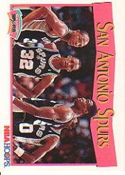 1991-92 Hoops #297 San Antonio Spurs