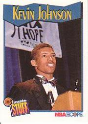 1991-92 Hoops #302 Kevin Johnson IS