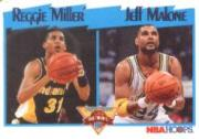1991-92 Hoops #308 R.Miller/J.Malone LL