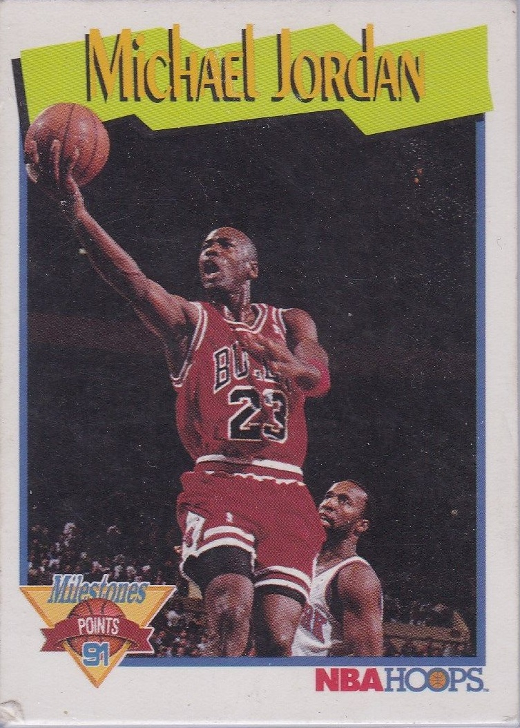 1991-92 Hoops #317 Michael Jordan MS