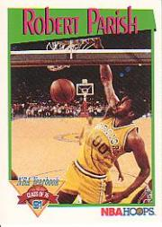 1991-92 Hoops #324 Robert Parish