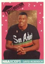 1991-92 Hoops #327 David Robinson DON'T