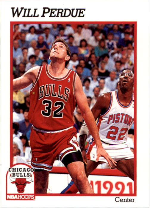 1991-92 Hoops #345 Will Perdue