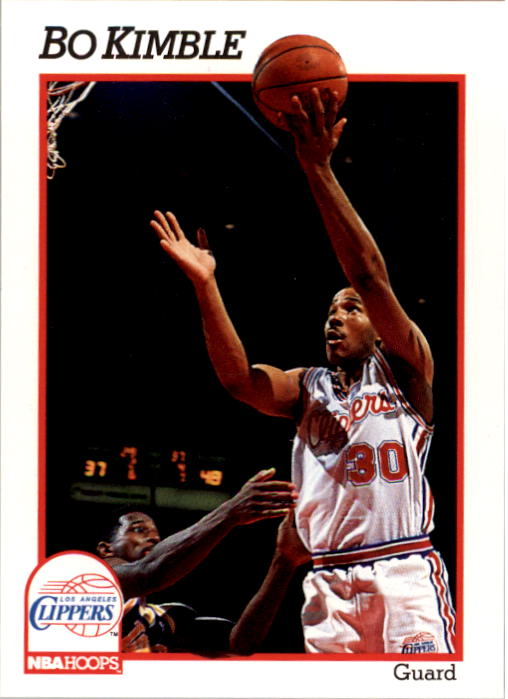 1991-92 Hoops #379 Bo Kimble