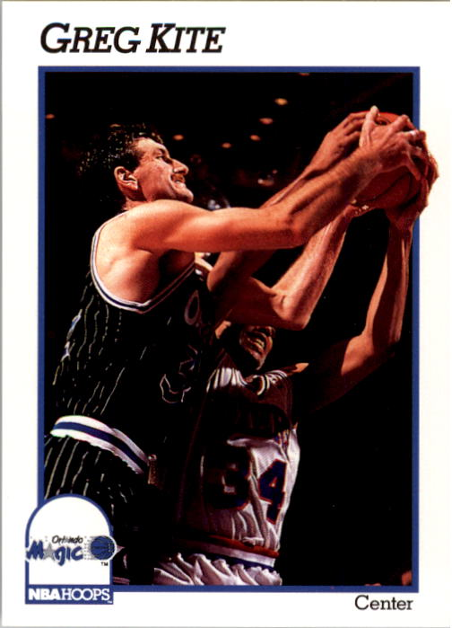 1991-92 Hoops #408 Greg Kite