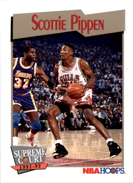 1991-92 Hoops #456 Scottie Pippen SC