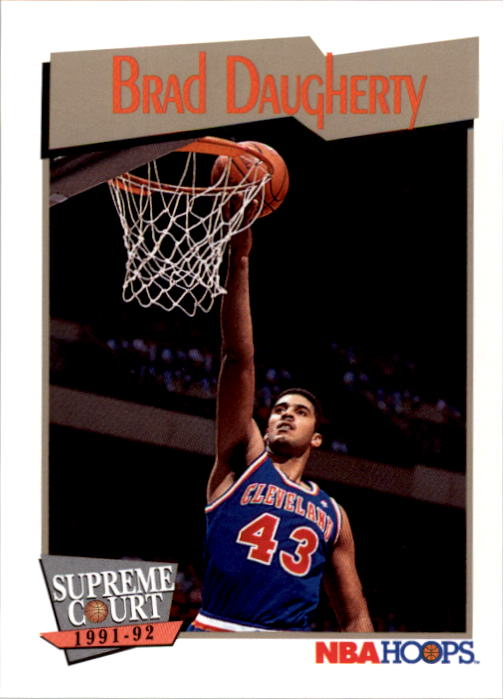 1991-92 Hoops #457 Brad Daugherty SC