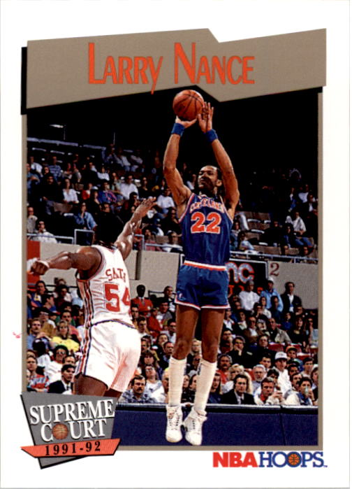 1991-92 Hoops #458 Larry Nance SC