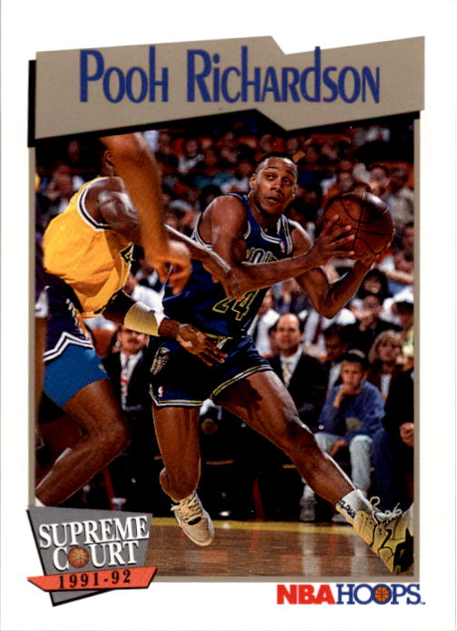 1991-92 Hoops #480 Pooh Richardson SC