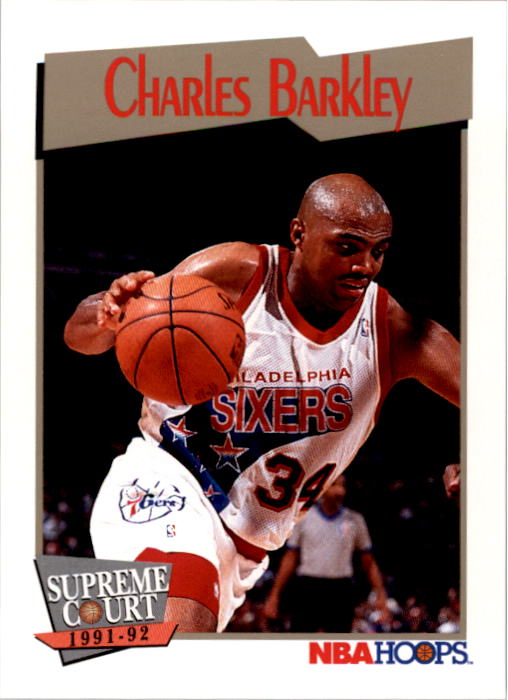 1991-92 Hoops #487 Charles Barkley SC