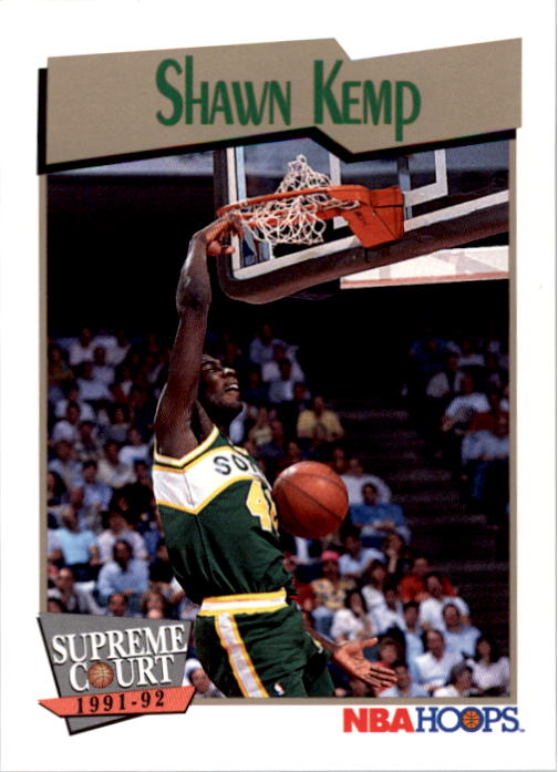 1991-92 Hoops #497 Shawn Kemp SC