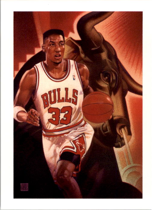 1991-92 Hoops #506 Scottie Pippen TC