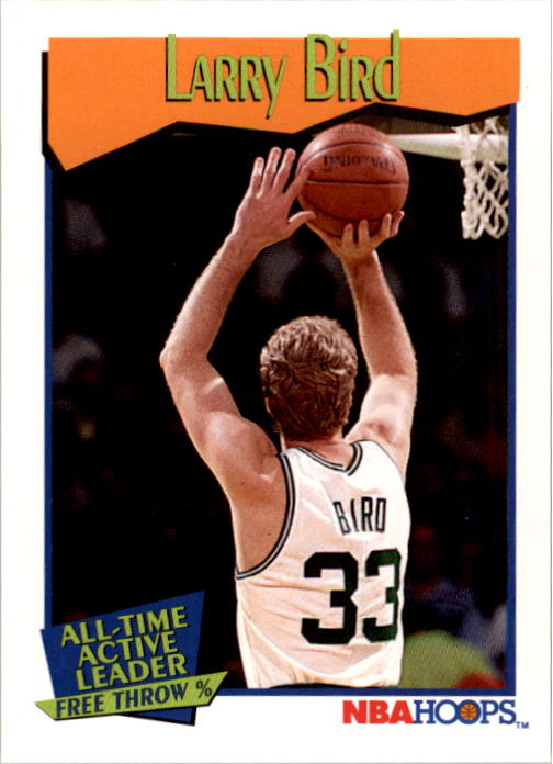 1991-92 Hoops #532 Larry Bird AL