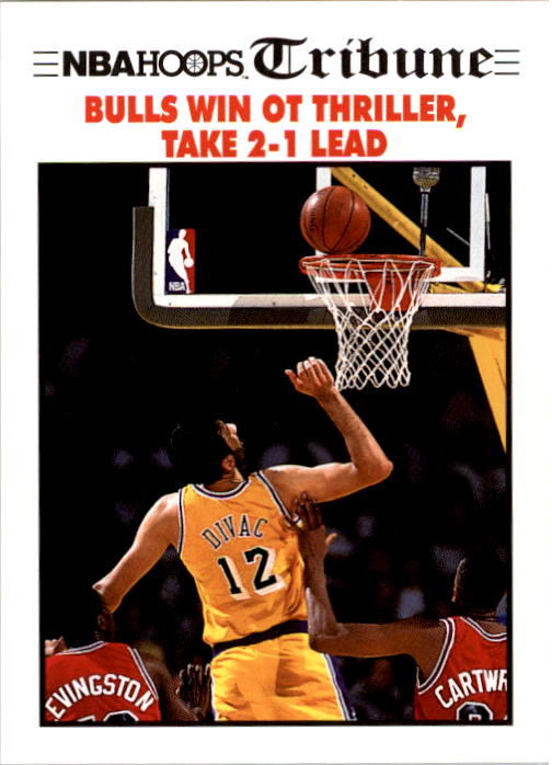 1991-92 Hoops #540 NBA Finals Game 3