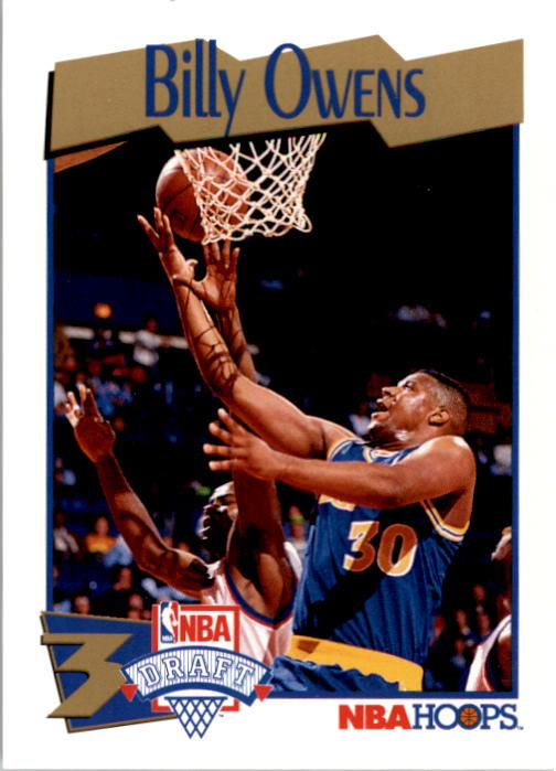 1991-92 Hoops #548 Billy Owens RC