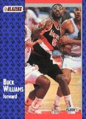 1991-92 Fleer Tony's Pizza #115 Buck Williams