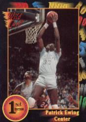 1991-92 Wild Card #15 Patrick Ewing