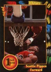 1991-92 Wild Card #83 Scottie Pippen