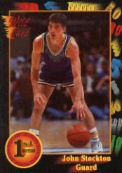 1991-92 Wild Card #84 John Stockton