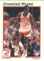 1991-92 Hoops McDonald's #1 Dominique Wilkins