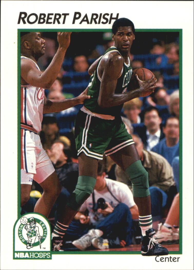 1991-92 Hoops McDonald's #4 Robert Parish