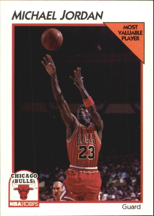 1991-92 Hoops McDonald's #5 Michael Jordan