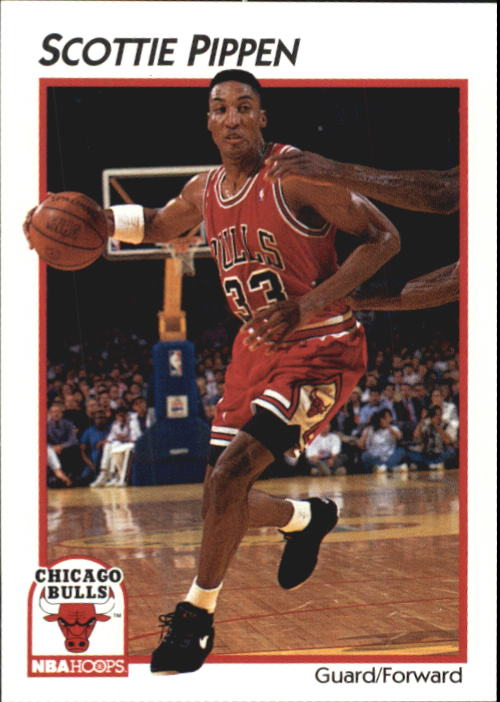 1991-92 Hoops McDonald's #7 Scottie Pippen