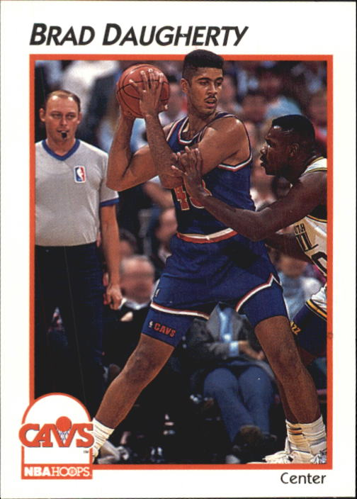 1991-92 Hoops McDonald's #8 Brad Daugherty