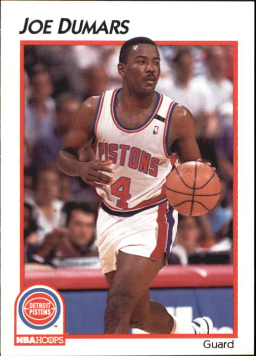 1991-92 Hoops McDonald's #11 Joe Dumars