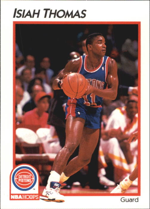1991-92 Hoops McDonald's #13 Isiah Thomas