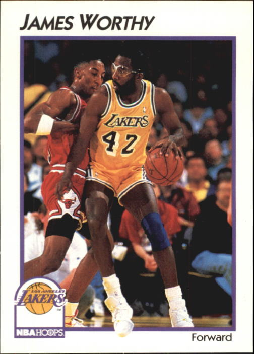 1991-92 Hoops McDonald's #21 James Worthy