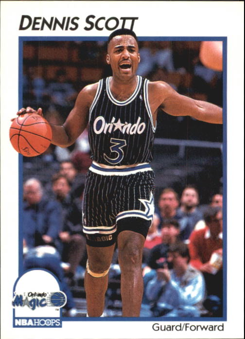 1991-92 Hoops McDonald's #28 Dennis Scott