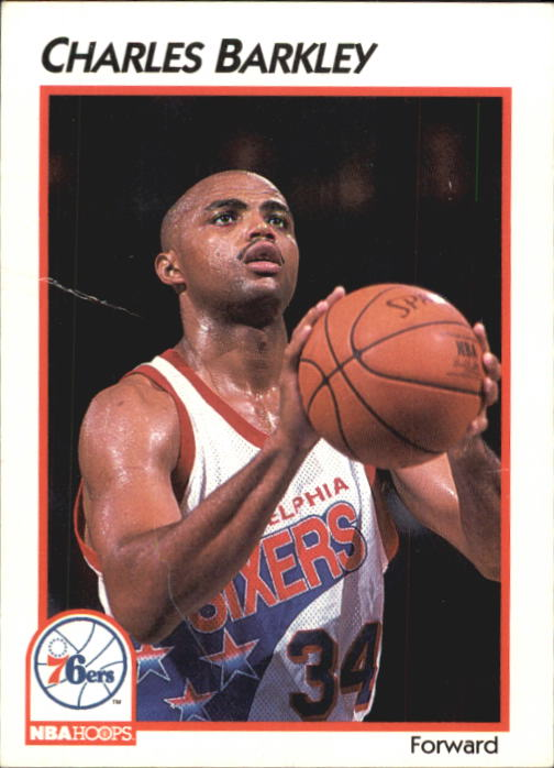 1991-92 Hoops McDonald's #30 Charles Barkley