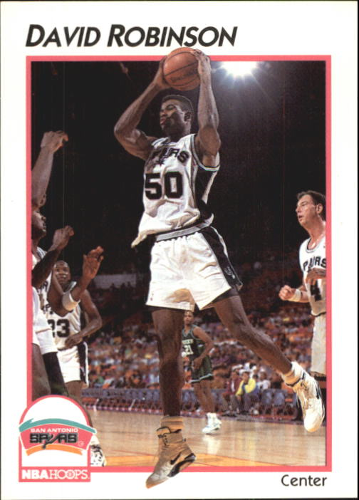 1991-92 Hoops McDonald's #41 David Robinson