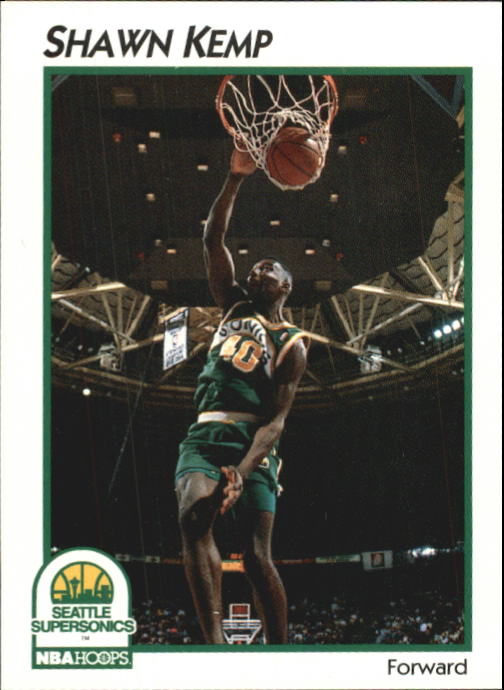 1991-92 Hoops McDonald's #42 Shawn Kemp