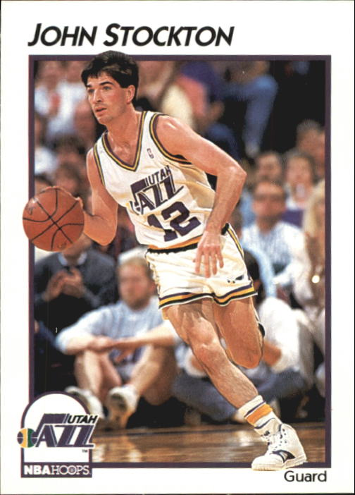 1991-92 Hoops McDonald's #45 John Stockton