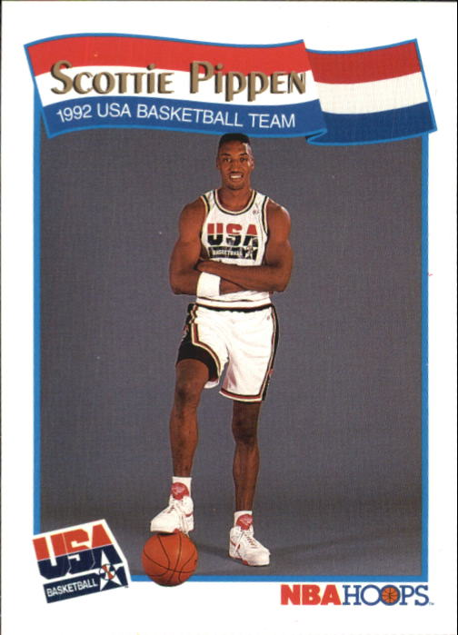 1991-92 Hoops McDonald's #58 Scottie Pippen USA