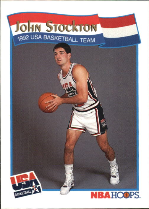 1991-92 Hoops McDonald's #60 John Stockton USA