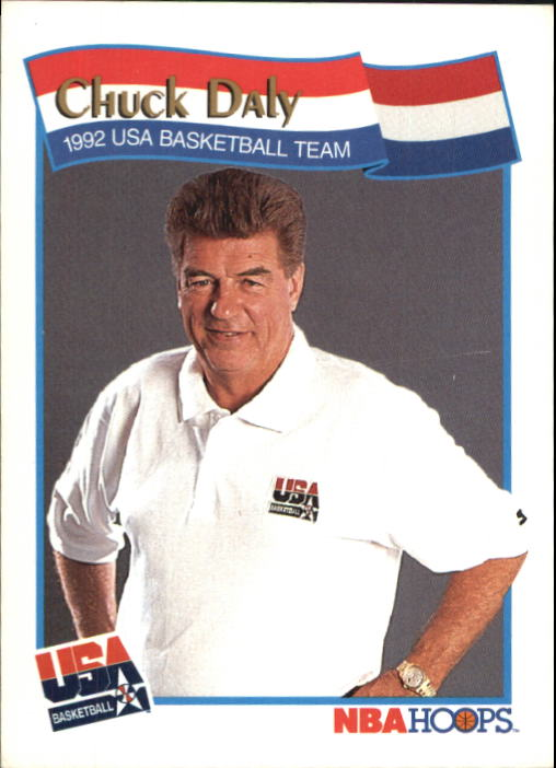 1991-92 Hoops McDonald's #61 Chuck Daly CO USA